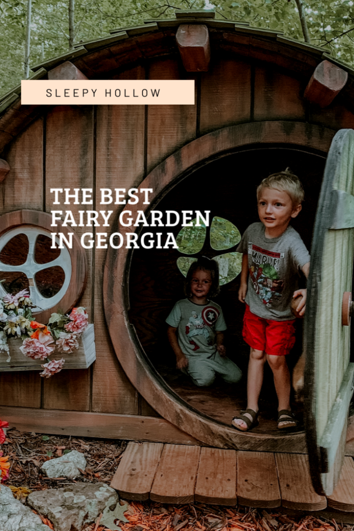 The Best Hidden Fairy Garden in Georgia